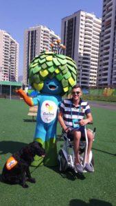 Blumil i maskotka Igrzysk Paraolimpijskich w Rio