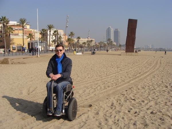 Blumil na plaży Barceloneta