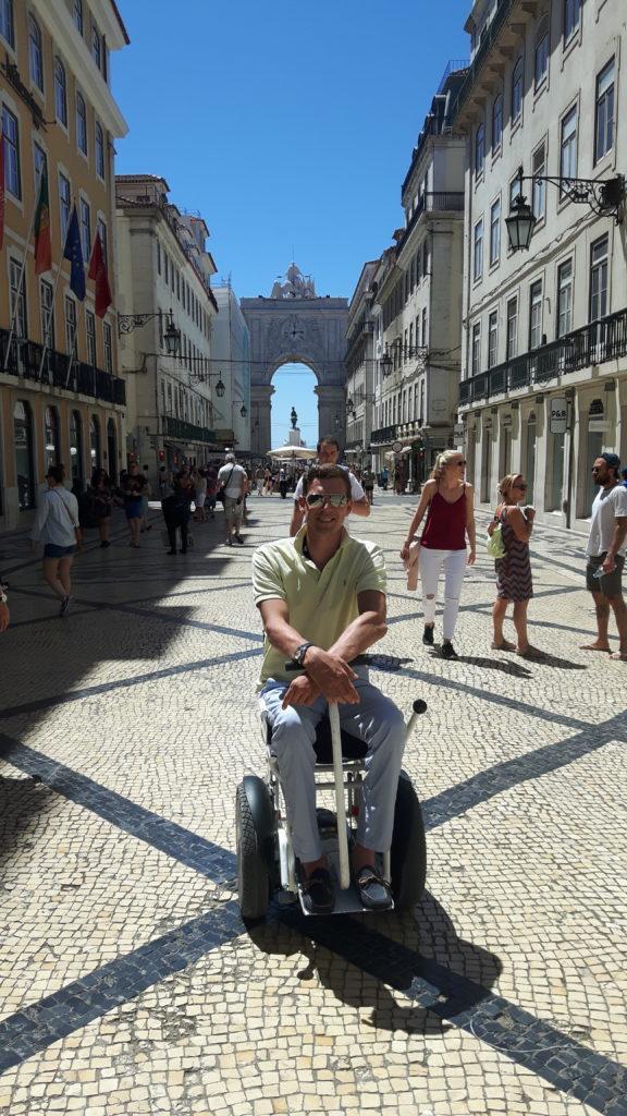 Blumil w centrum Lizbony