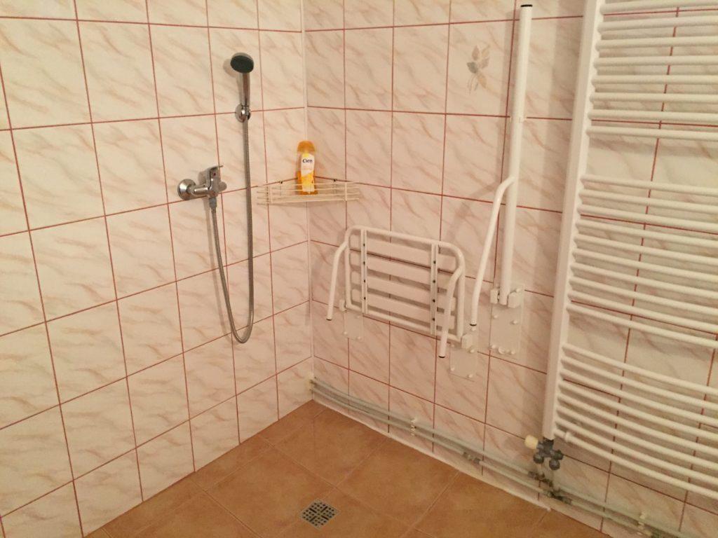 Dostosowana łazienka