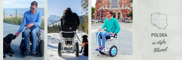 Podróżowanie po Polsce, wózek elektryczny, podróżowanie na wózku elektrycznym, podróżowanie na wózku inwalidzkim, podróże dla osób niepełnosprawnych, wózek elektryczny