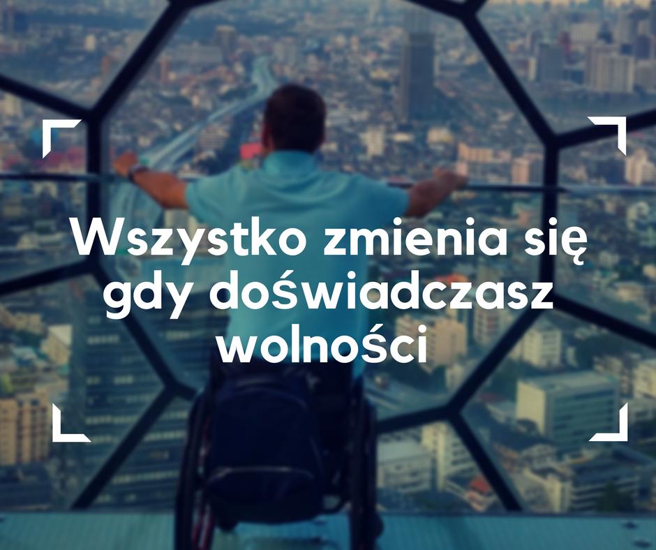 wolność, wózek elektryczny, wózek inwalidzki, podróże dla niepełnosprawnych