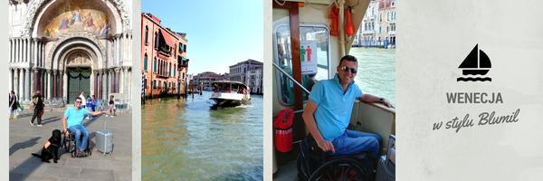 Wenecja, wózek elektryczny, wózek inwalidzki, Wenecja na wózku inwalidzkim, Wenecja na wózku, Wenecja dla osób niepełnosprawnych, podróże dla osób niepełnosprawnych, podróże dla niepełnosprawnych, podróże na wózku, wózek miejski